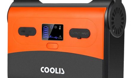 COOLIS 200Wh-54000mAh Portable Purely Sine Wave Lithium Battery Power Inverter Generator Power Station
