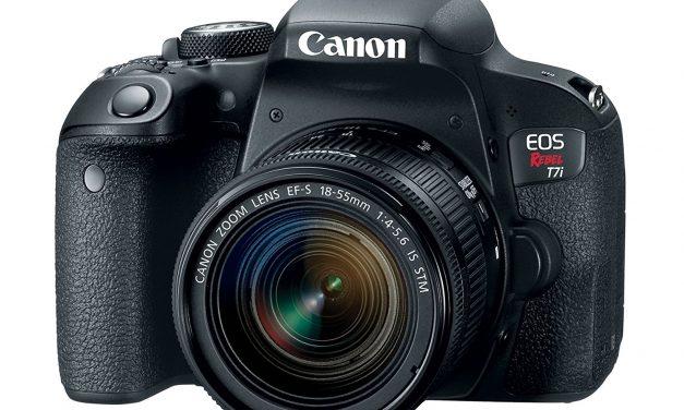 Canon EOS REBEL T7i